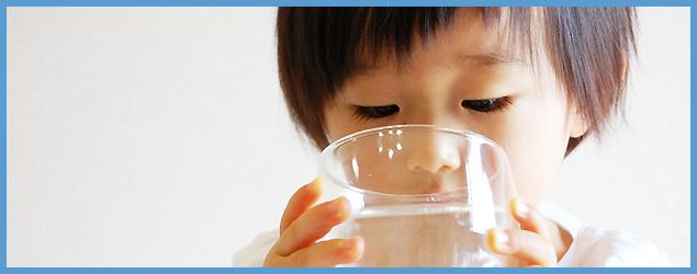 赤ちゃんのための天然水