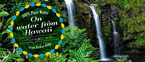 ハワイのお水について